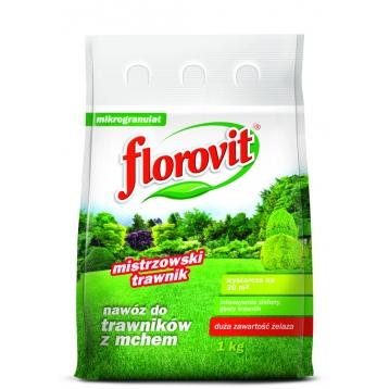 Florovit nawóz do trawników z mchem1kg