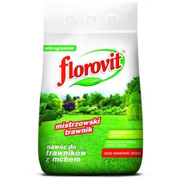 Florovit nawóz do trawników z mchem 5kg