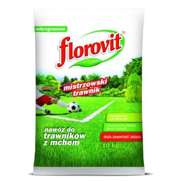 Florovit nawóz do trawników z mchem 10kg
