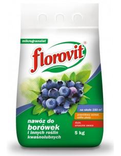 Florovit do borówek i innych kwaśnolubnych roślin 5kg