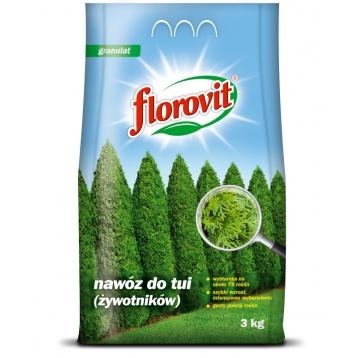 Florovit nawóz do tui (żywotników) 3kg