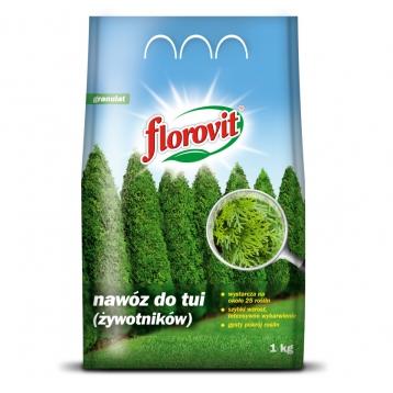 Florovit nawóz do tui (żywotników) 1kg