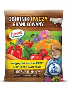 Florovit pro natura obornik owczy gran. 5l