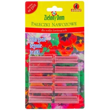 Pałeczki nawozowe dla roślin kwitnących 30szt