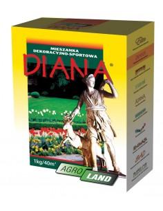 Mieszanka traw dekoracyjno - sportowa Diana 1kg