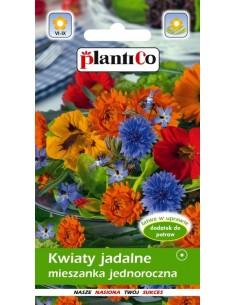 Kwiaty jadalne jednoroczne miesz. 4g