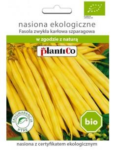 Fasola szparagowa karłowa żółta BIO 30g