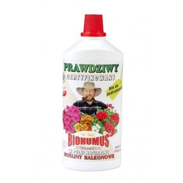 Biohumus Extra do kwiatów balkonowych 1l