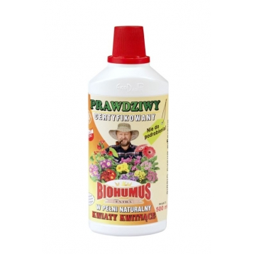 Biohumus Extra do kwiatów kwitnących 0,5l