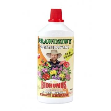 Biohumus Extra do kwiatów kwitnących 1l