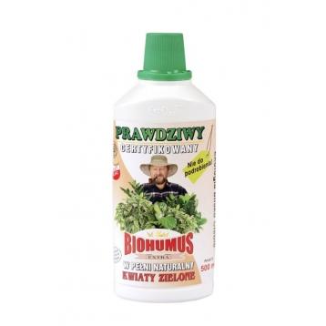 Biohumus Extra do kwiatów zielonych 0,5l