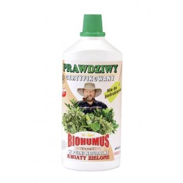 Biohumus Extra do kwiatów zielonych 1l