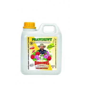Biohumus Extra do pelargonii 2l