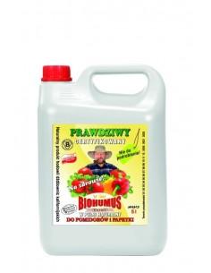 Biohumus Extra do pomidorów i papryki 5l