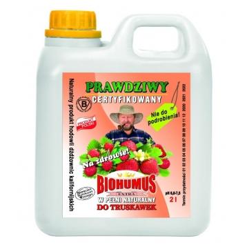 Biohumus Extra do truskawek i poziomek 2l