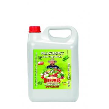 Biohumus Extra do warzyw 5l
