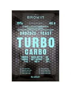 Drożdże gorzelnicze Turbo Carbo 48h 160g