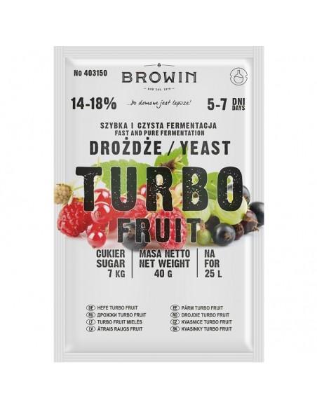 Drożdże gorzelnicze Turbo Fruit 5-7 dni 40g