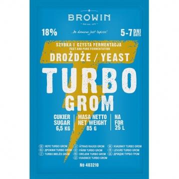 Drożdże gorzelnicze Turbo Grom 5-7 dni 85g