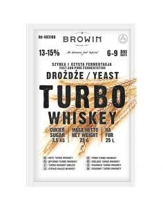 Drożdże gorzelnicze Turbo Whiskey 23g