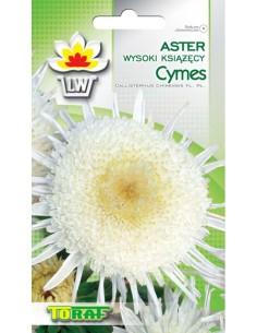 Aster ch. książ. Cymes biały 1g